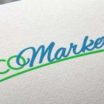 Diseño de logotipo Ecomarket