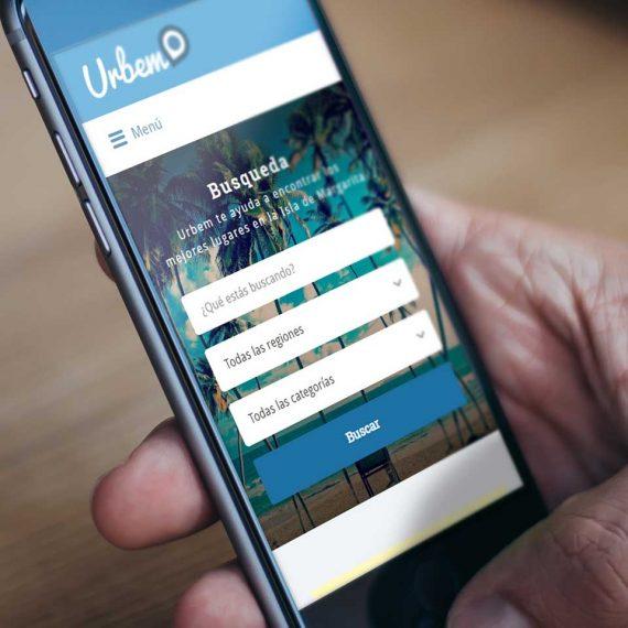 Diseño de paginas web Urbem